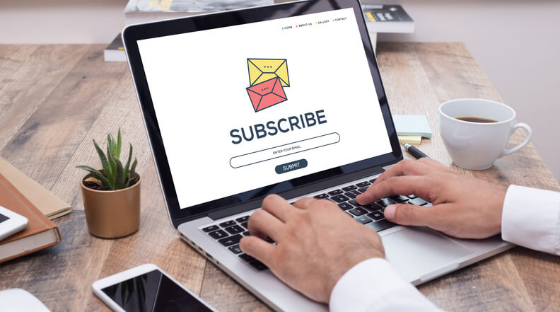 SUBSCRIBE FORM FOR NEWSLETTER